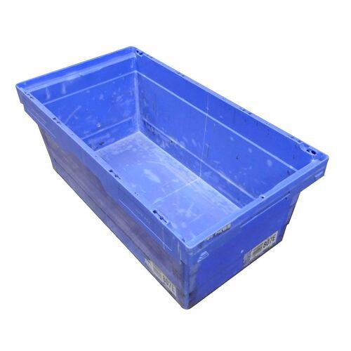 Gebruikte magazijnbak 807x399x323 Blauw