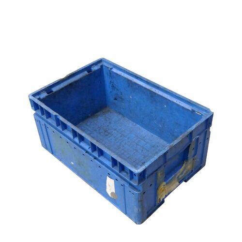 Gebruikte magazijnbak SSI Schaefer KLT 6428 600x400x280 blauw