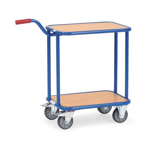 Greeproller 250 kg 600x450 met 2 houten platforms