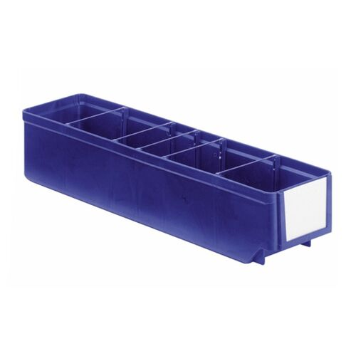 Magazijnbak, Magazijnstellingbak, Kunststof bak RK 400x93x83 blauw
