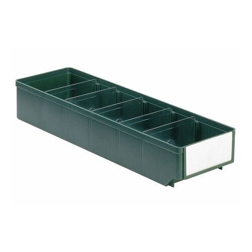 Magazijnbak, Magazijnstellingbak, Kunststof bak RK 500x152x83 groen