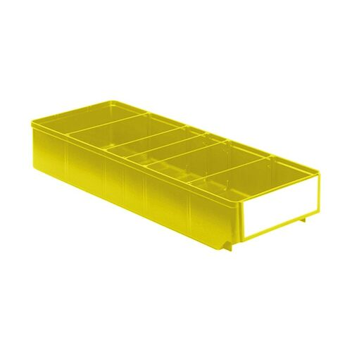 Magazijnbak, Magazijnstellingbak, Kunststof bak RK 500x186x83 geel