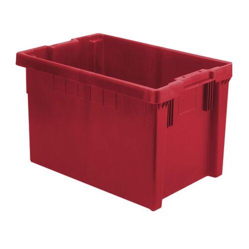 Stapelbare, nestbare euronorm bak LB 600x400x350 rood