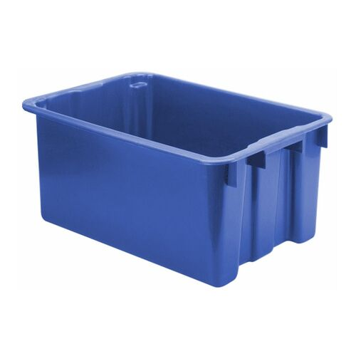 Stapelbare, nestbare euronorm bak LB 650x450x280 blauw