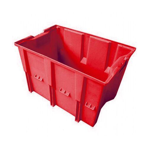 Stapelbare, nestbare transportkrat DLK1 480x312x300 rood