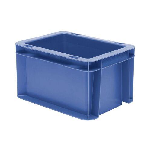 Transportkrat Euronorm plastic bak, krat TK0 200x100x120 blauw