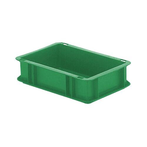 Transportkrat Euronorm plastic bak, krat TK0 300x200x75 groen