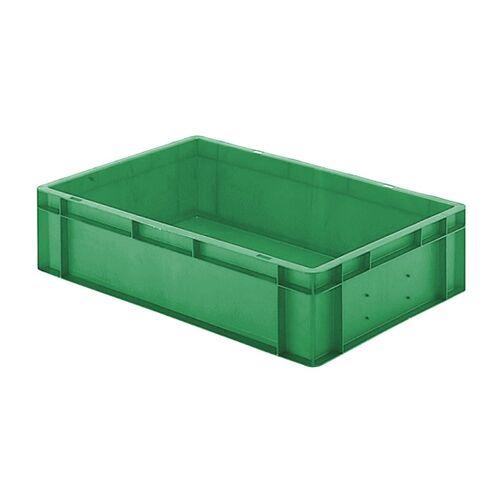 Transportkrat Euronorm plastic bak, krat TK0 600x400x145 groen