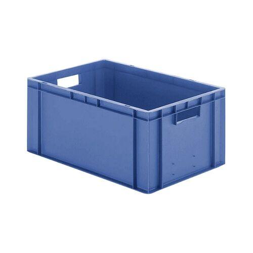 Transportkrat Euronorm plastic bak, krat TK0 600x400x270 blauw