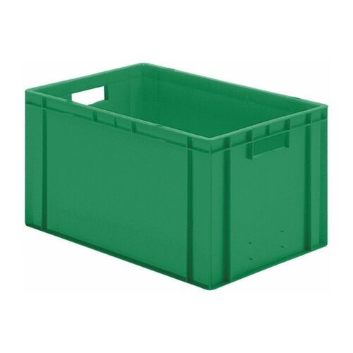 Transportkrat Euronorm plastic bak, krat TK0 600x400x320 groen