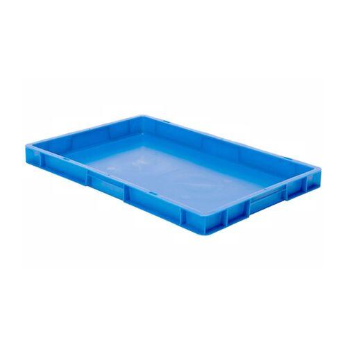 Transportkrat Euronorm plastic bak, krat TK0 600x400x50 blauw