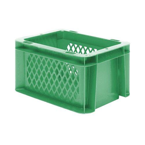 Transportkrat Euronorm plastic bak, krat TK1 200x100x120 groen