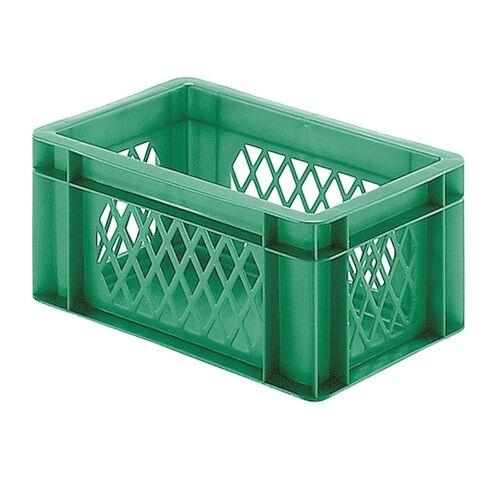 Transportkrat Euronorm plastic bak, krat TK1 300x200x145 groen