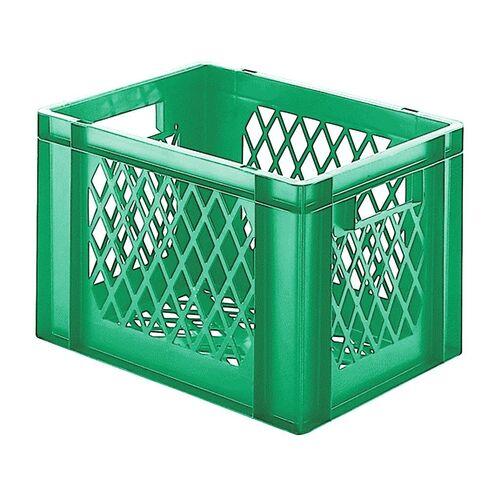Transportkrat Euronorm plastic bak, krat TK2 400x300x270 groen