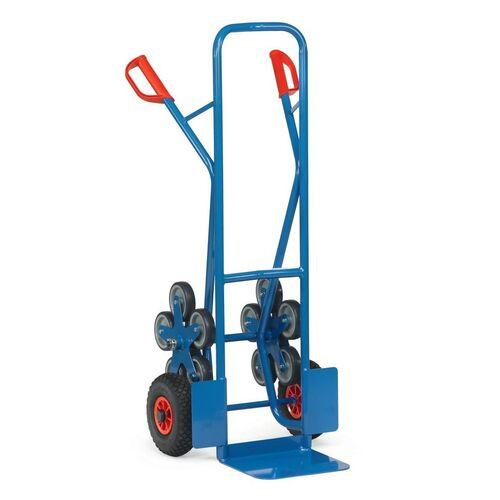 Trappensteekwagen 200 kg 1300 mm met 2 vijfarmige wielsterren
