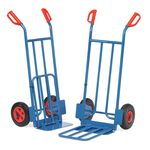 Inklapbare steekwagen 250 kg 1150 mm met rubberbanden